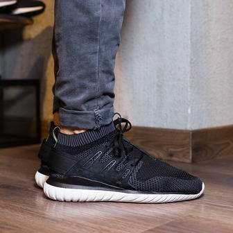 Adidas Originals Tubular Defiant Casual Shoes Black / Black / Black