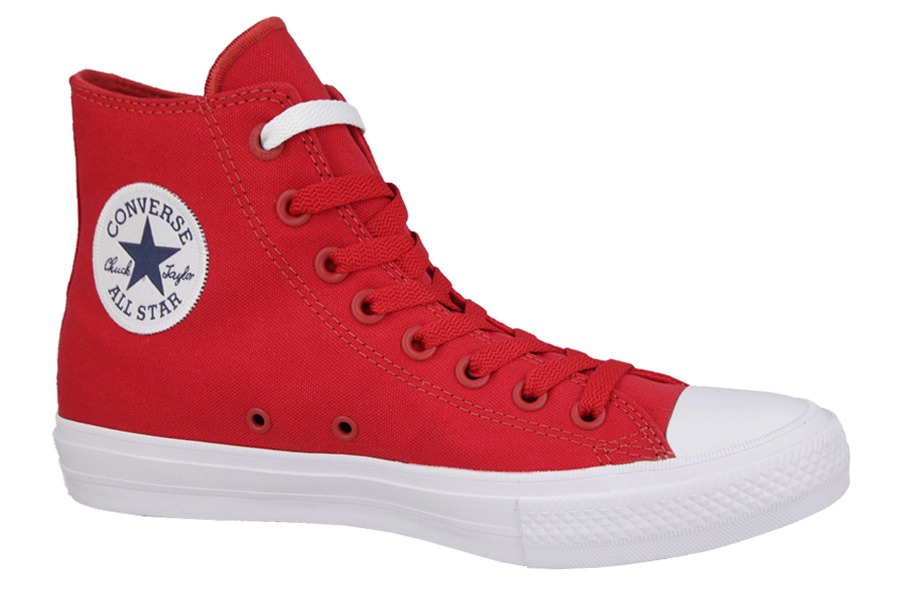 damen schuhe sneakers converse chuck taylor all star ii hi salsa. Black Bedroom Furniture Sets. Home Design Ideas