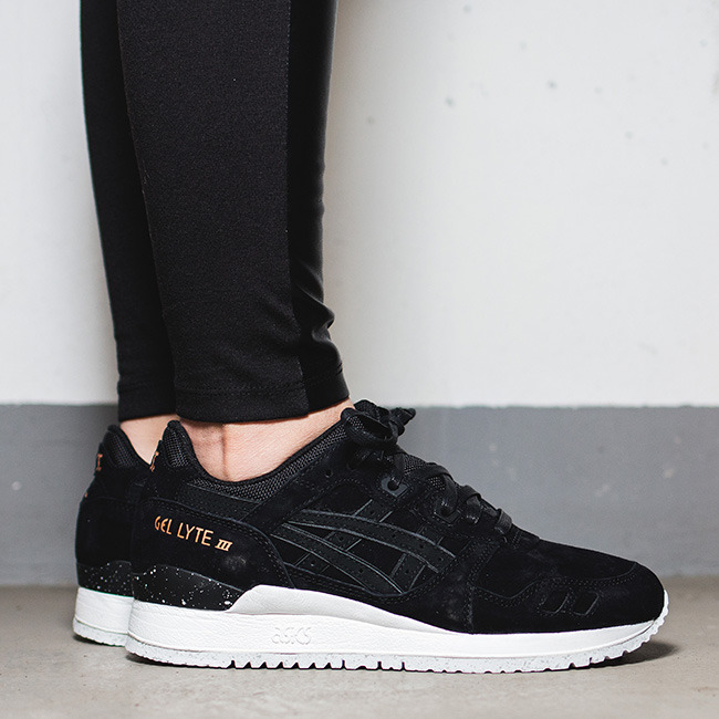 asics gel lyte 3 all black dames